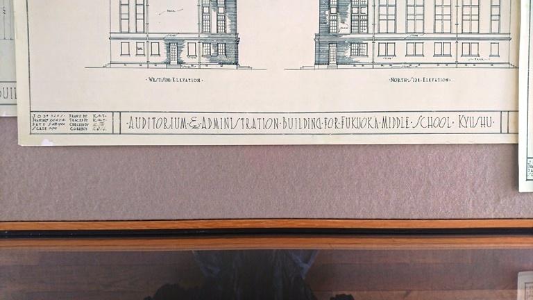 設計図の手書きサイン