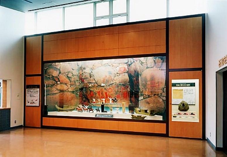 五郎山古墳館の館内展示