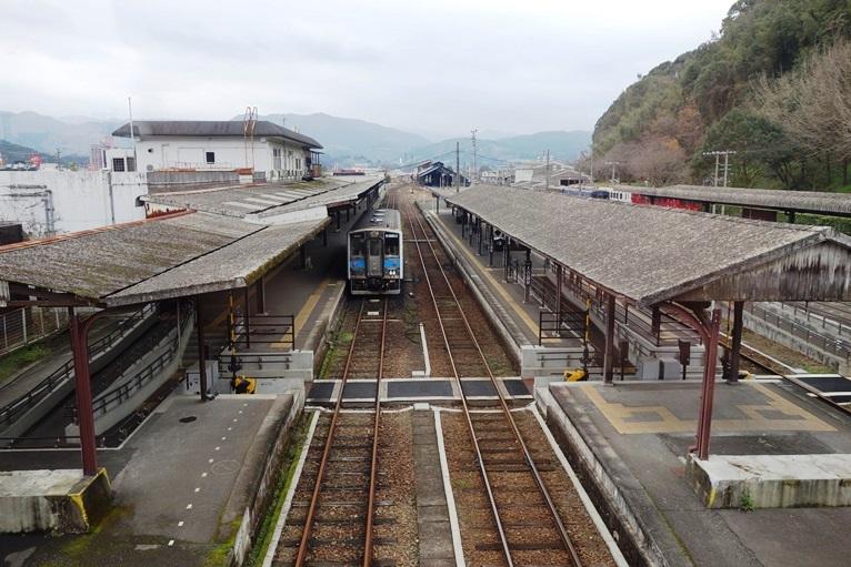 くま川鉄道の人吉温泉駅