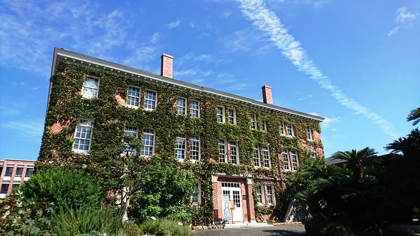 西南学院大学博物館(ドージャー記念館)は福岡県指定有形文化財