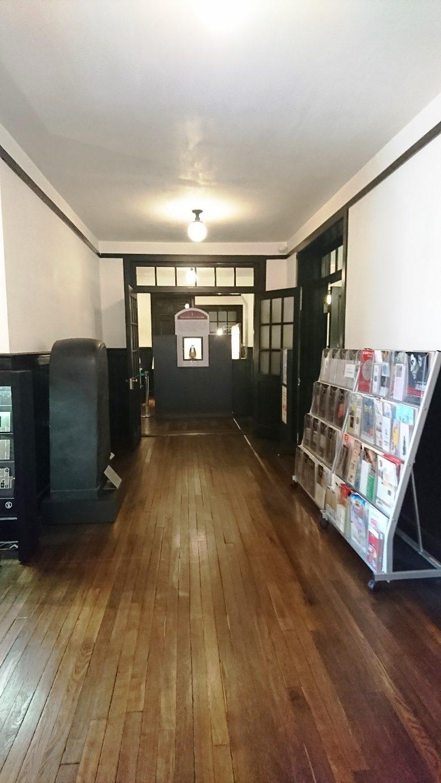 1階の廊下つきあたりが常設展示室