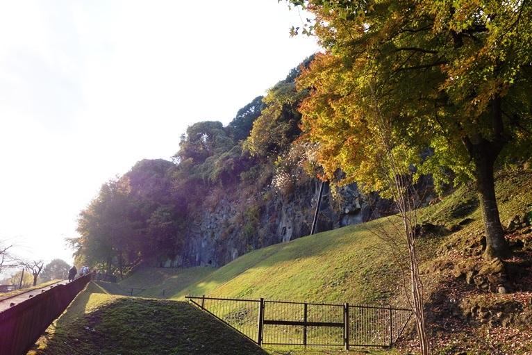 大村横穴墓群の全景