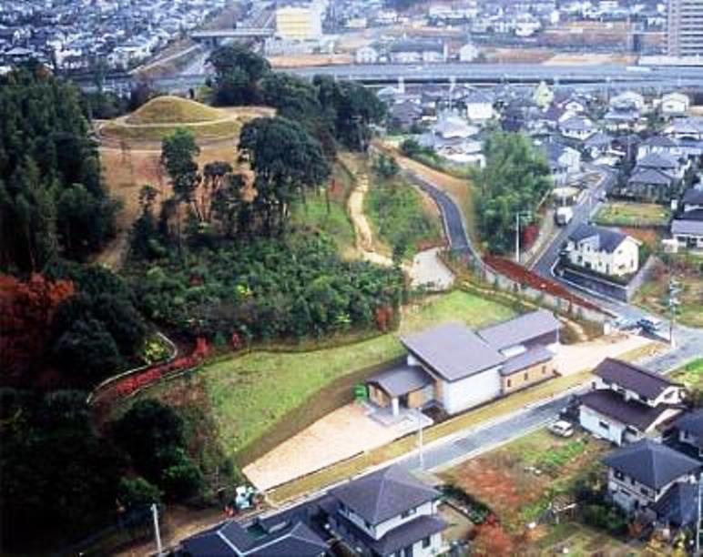 五郎山古墳の空撮