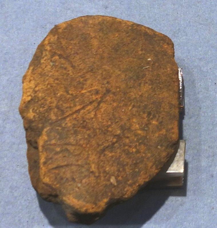 スイジガイ文様の埴輪の破片