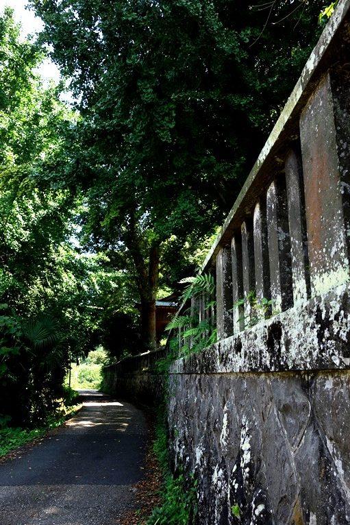 神埼八幡神社の古い石垣