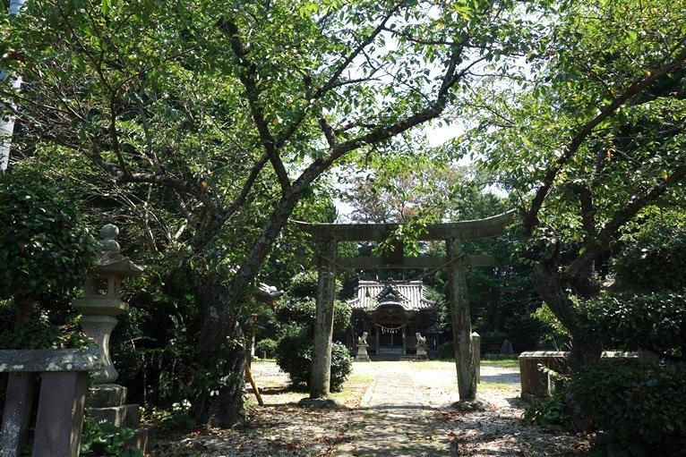 神埼八幡神社の参道