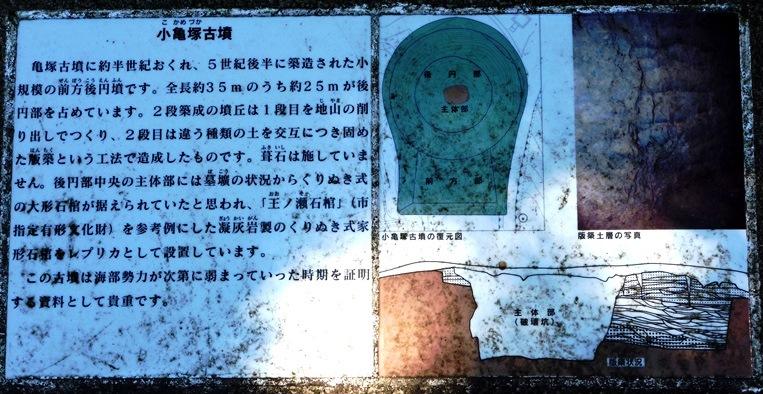 小亀塚古墳の解説