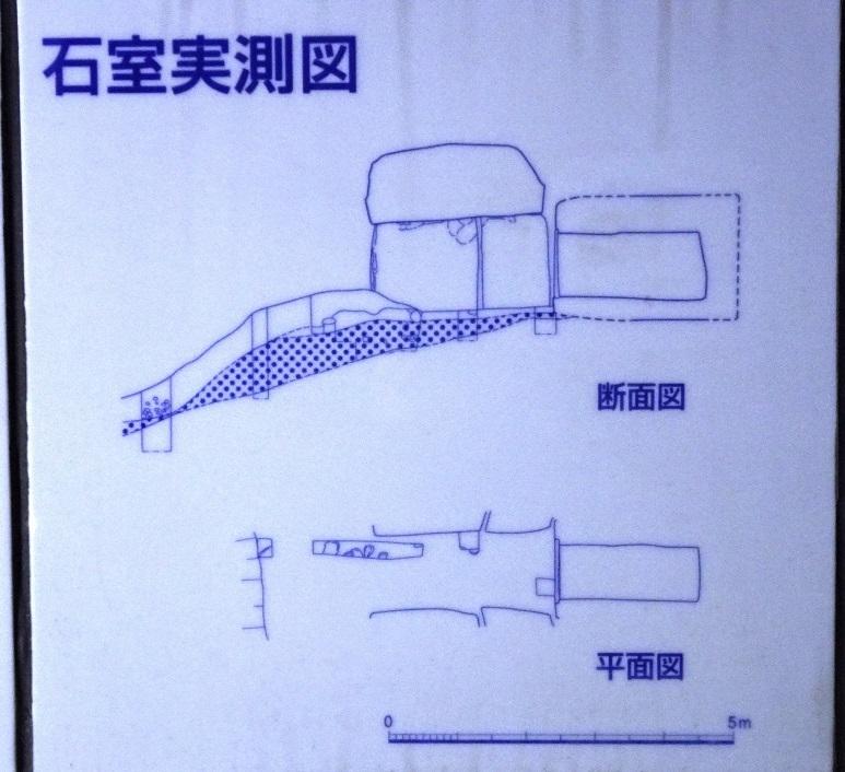 石室実測図