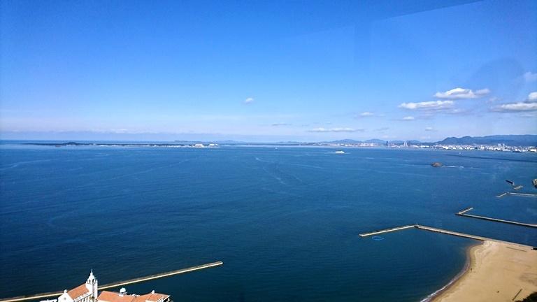 福岡タワーから望む海の中道