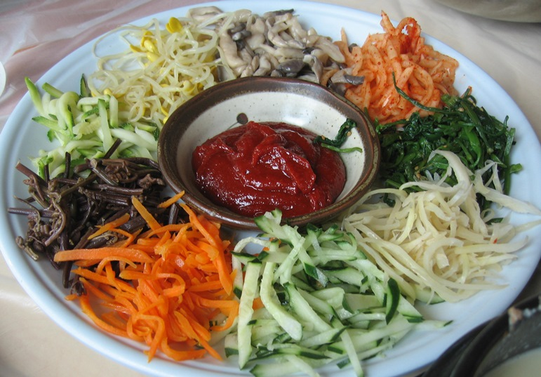 韓国料理の五味五色