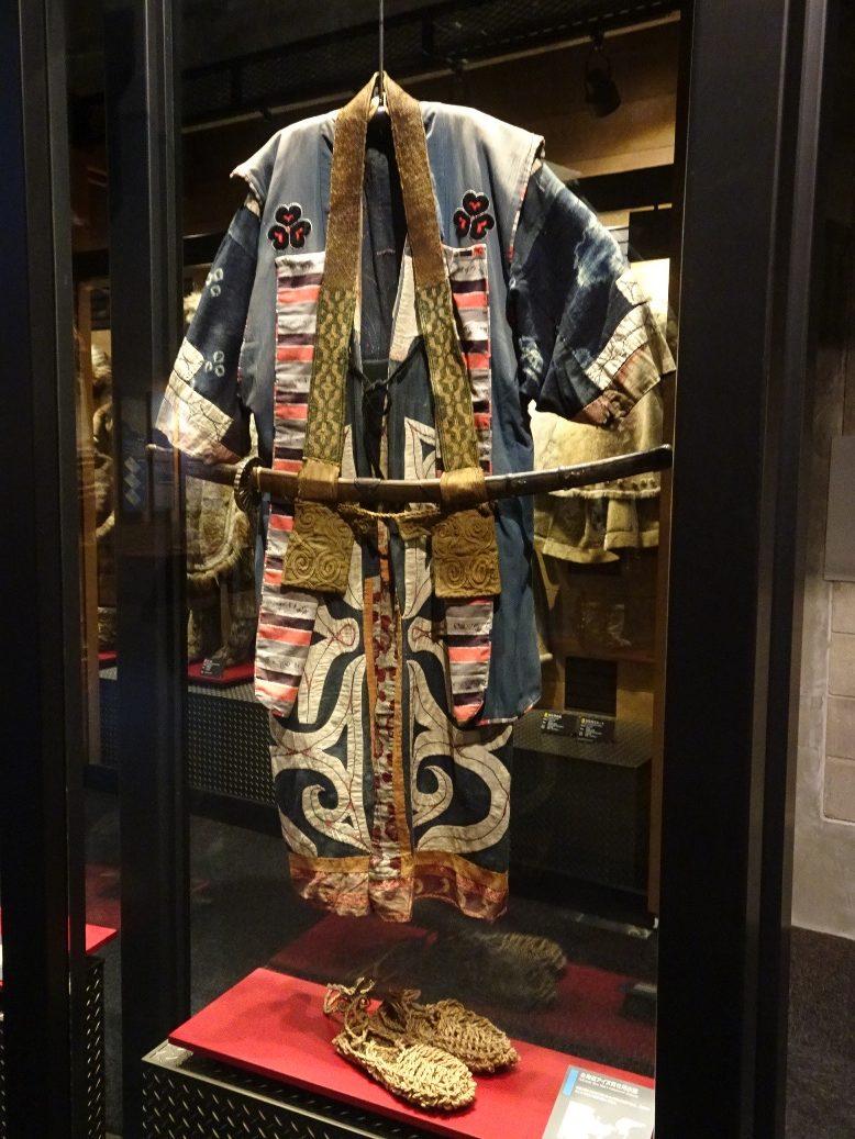 北海道アイヌの男性用衣装