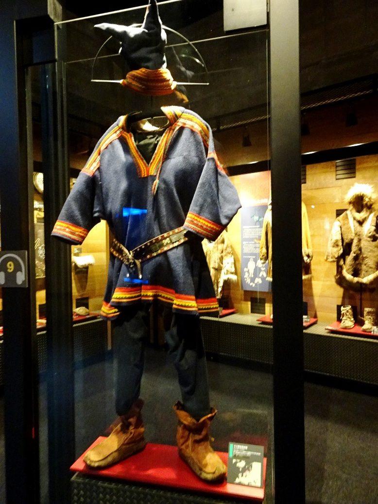 ノルウェーのサミ男性衣装
