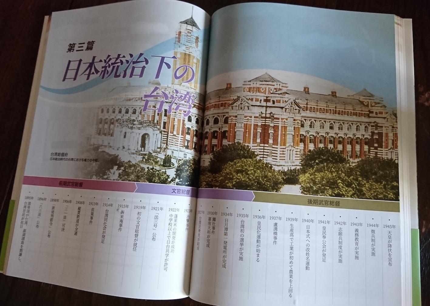 台湾の歴史(雄山閣)第三篇 日本統治下の台湾